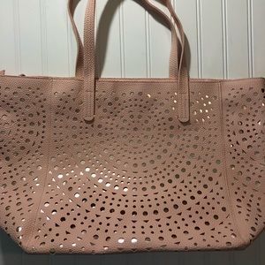 Handbags - large bag pink and gold new without tags